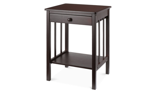 HOMFA Bamboo Night Stand