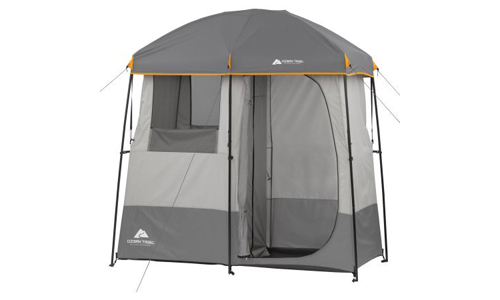 OZARK 2-Room Non-Instant Shower Tent