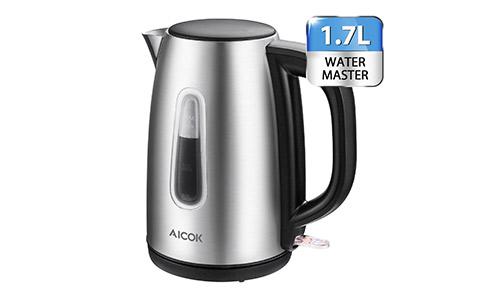 Aicok Cordless Strix Control Electric Kettle
