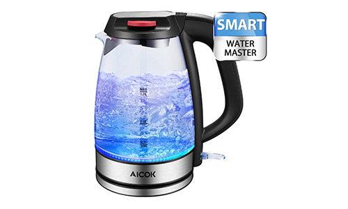 Aicok Electric Glass Tea Kettle