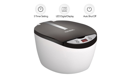 VIVREAL-Ultrasonic Cleaner - Jewelry Cleaner CD Cleaner Denture Cleaner