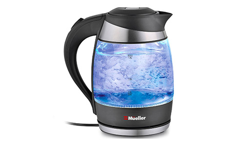 Mueller Ultra SpeedBoil Electric Glass Kettle