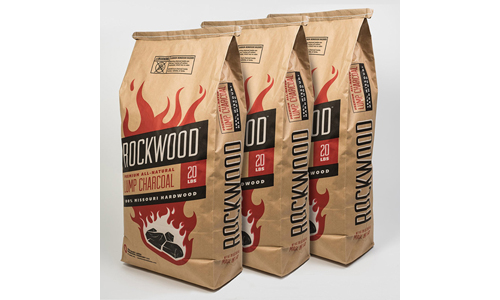 Pack of 3 Lump Charcoal Bags by ROCKWOOD