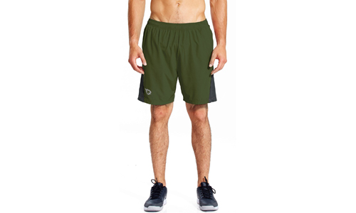 7-inch Workout Running Shorts with Mesh Liner, Quick Dry Fabric and Zippered Pockets by BALEAF