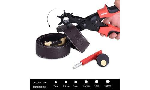 Goodes Professional Leather Hole Punch Pliers