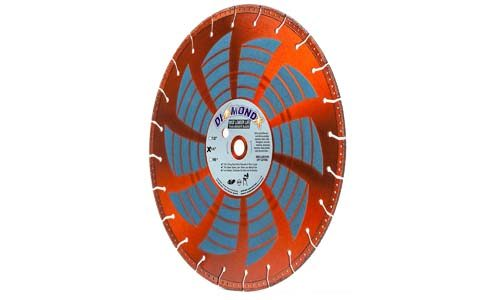 "Heavy Duty 14"" x 1"" abrasive saw blade"