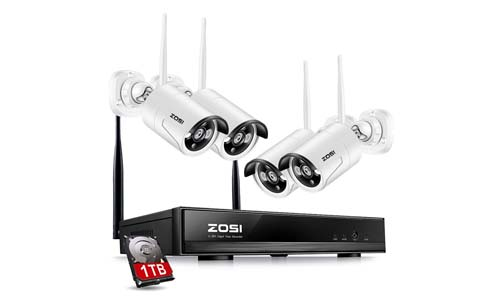 ZOSI Wireless Security Cameras System
