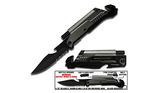 Rogue River Tactical 6-in-1 Multitool Knife