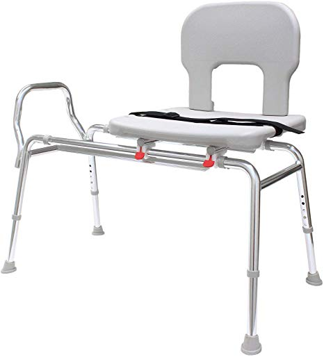 EagleHealth Bariatric Sliding Bath Bench