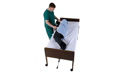 Positioning Bed Pad with Handles,