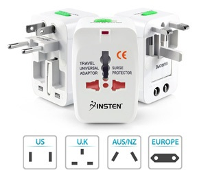 Insten Universal World Wide Travel Charger Adapter Plug