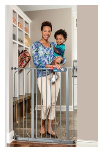 Regalo Deluxe Easy Step Extra Tall Gate