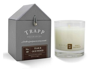No. 68 Teak and Oud Wood Scented Candle