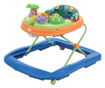 Dino Sounds 'n Lights Discovery Baby Walker by Safety 1st