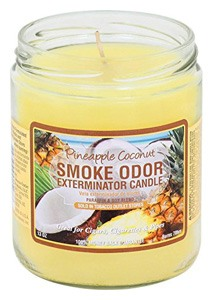 Smoke Odor Exterminator Candle, Pineapple & Coconut
