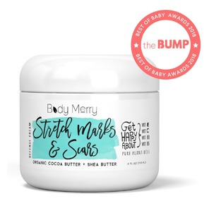 BODY MERRY Stretch Marks and Scar Defense Cream