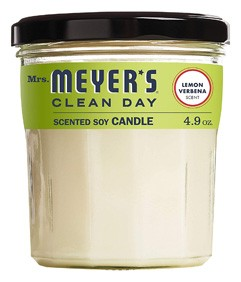 Clean Day Scented Soy Candle, Lemon Verbena by Mrs. Meyer's Merge