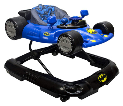 KidsEmbrace Baby Walker with DC Comics Batman