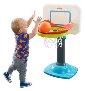 Fisher-Price Grow-to-pro junior basketball hoop