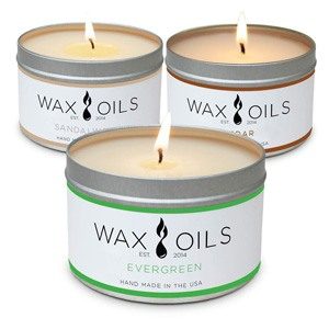 Wax and Oil Scented Candles