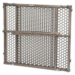 Vintage Grey Wood Gate by Safety 1st