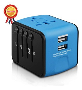 Universal Travel Adapter by Iron-M