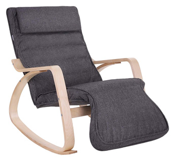 SONGMICS 5-Way Adjustable Rocking Chair