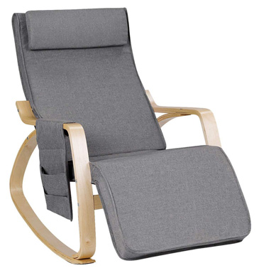 USA BEST SELLER Adjustable Lounge Rocking Chair