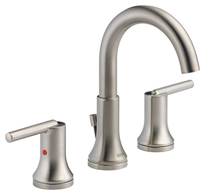 Delta Faucet Trinsic 2-Handle Widespread Bathroom Faucet