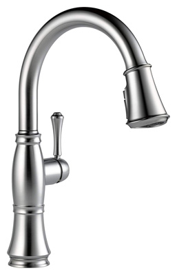 Delta Faucet Cassidy Single-Handle Kitchen Sink Faucet
