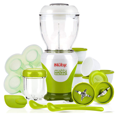 Nuby Garden Fresh22 Piece Baby Food Maker Set