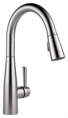 Delta Faucet Essa Single-Handle Kitchen Sink Faucet