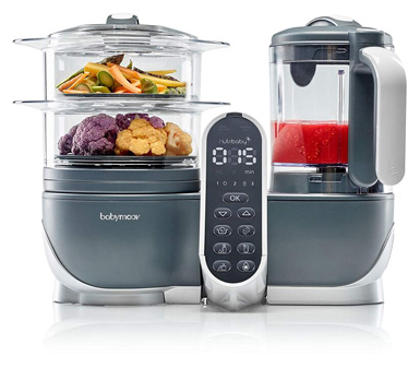 Babymoov 6-In-1 Duo Meal Station Food Maker (2019 NEW VERSION)