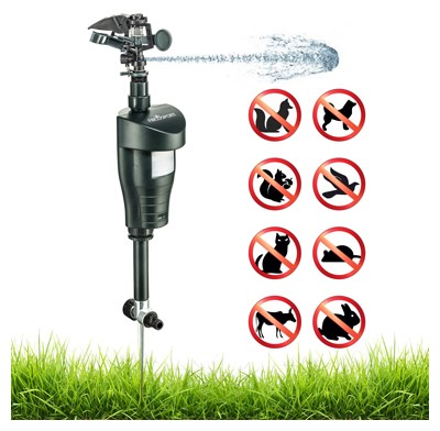 Abco Tech Activated Motion Sensor Animal Repellent Water Sprinkler