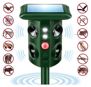 Naloth Newest Ultrasonic Animal Repellent Water Sprinkler