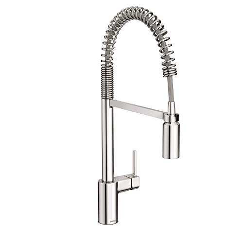 Moen 5923 Align One Handle Pre-Rinse Spring Pulldown Kitchen Faucet