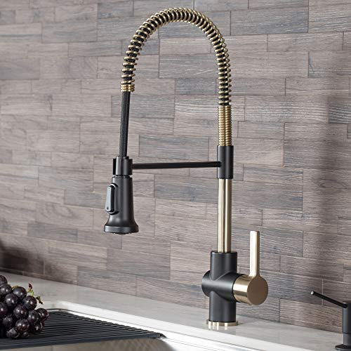 Kraus KPF-1690BG Commercial Kitchen Faucet with Dual Function Sprayhead
