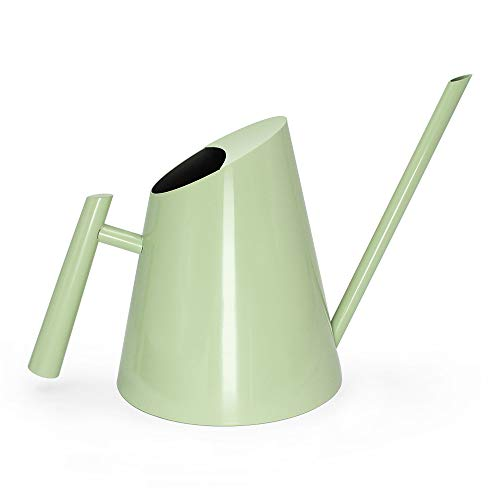 Cesun Metal Watering Can Solid Stainless Steel Pot with Long Spout Small Size