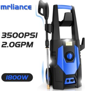 blue electric pressure washer