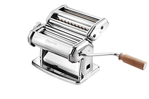 Imperia Pasta Machine with Lock Dial and Handle