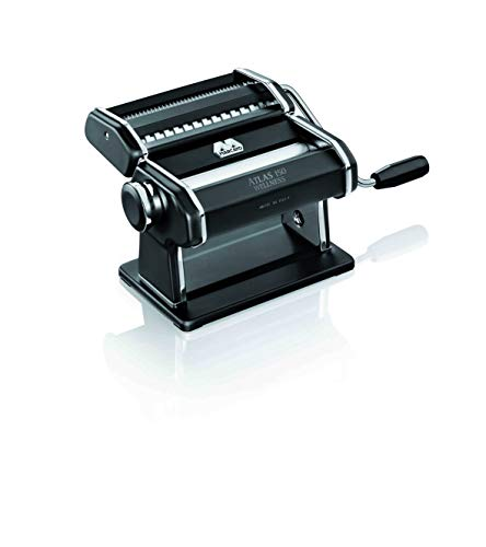 MARCATO Atlas 150 Pasta Machine with Roller and Cutter