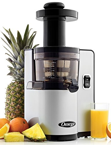 Omega VSJ843QS Slow Masticating Juicer with Auto Pulp Ejection