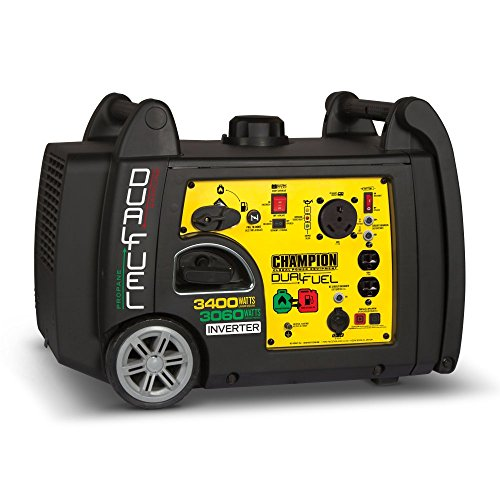 Champion Dual Fuel Portable Generator and RV Ready
