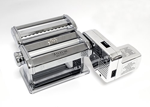 MARCATO Atlas 150 Pasta Maker with Electric Motor Attachment