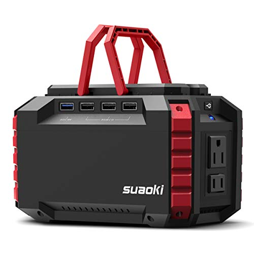 SUAOKI Portable Generator with Lithium Power Supply and UL Certified