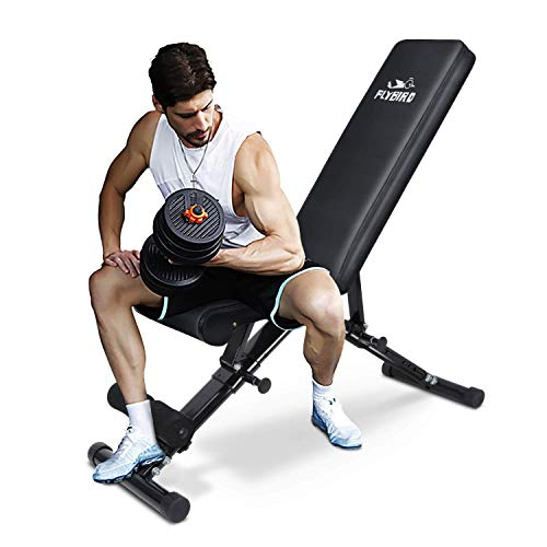 FLY BIRD Weight Bench with Fast Folding Design