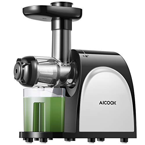AICOOK Slow Masticating Juicer with Reverse Function