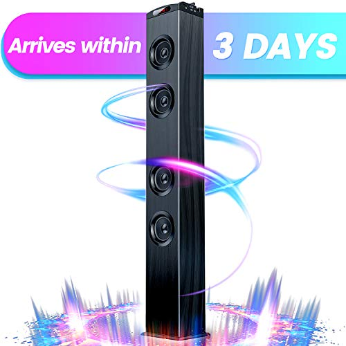 VENLOIC Bluetooth Tower Speaker for Home Stereo System