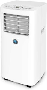 white movable air conditioner