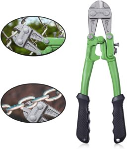 green bolt cutter